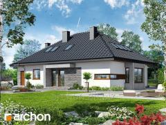 Проекты домов в современном стиле Дом под красной рябиной ГМН Archon