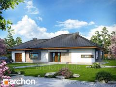 Проекты домов в современном стиле Дом под красной рябиной ГН Archon