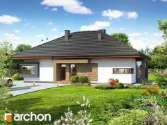 Проекты домов в современном стиле Дом под красной рябиной Н Archon