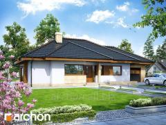 Проекты домов в современном стиле Дом под цицербитой Archon