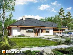 Проекты домов в современном стиле Дом под цицербитой Г2 Archon