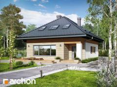 Проекты домов в современном стиле М Дом в сирени М Archon