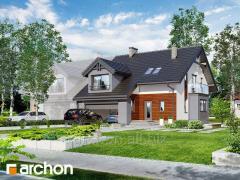 Проекты домов для сблокированной застройки Дом в клематисах Г2 Archon