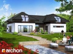 Проекты домов с гаражом на 2 машины Резиденция в нертерах Archon