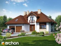 Проекты домов с подвалом 2 П Дом в калатеях 2 П Archon