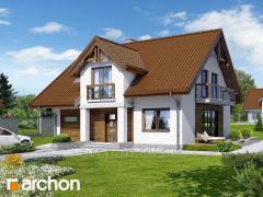 Проекты домов с подвалом Дом в аспарагусах ПН Archon