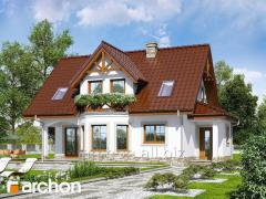Проекты домов со входом с юга Дом в клюкве П Archon