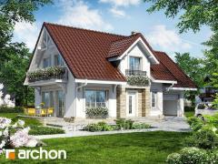 Проекты домов со входом с юга Дом в лантанах Archon