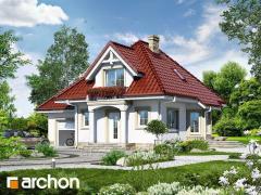 Проекты малых домов до 150 m2 Дом в винограде 3 Archon
