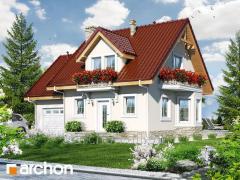 Проекты малых домов до 150 m2 Дом в винограде 4 Archon