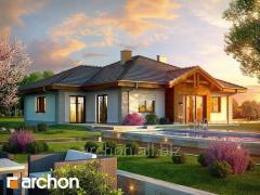 Проекты одноэтажных домов Дом в лобо Г2 ver.2 Archon