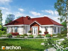 Проекты одноэтажных домов Дом в пустырнике Archon