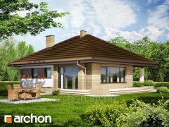 Проекты одноэтажных домов Дом в сирени Archon