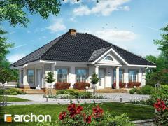 Проекты одноэтажных домов Дом под красной рябиной 4 Archon