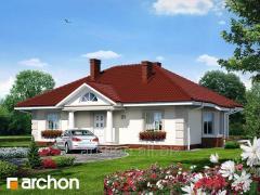 Проекты одноэтажных домов Дом под красной рябиной Archon