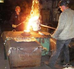 Heat treatment of pig-iron castings
