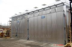 Services of drying of timber of firm and soft