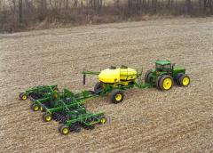 Услуги обработки земли