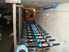Installation of thermal pumps