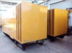 Rent the diesel - generators, power plants