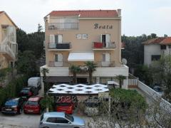Отдых в Хорватии 2016. Апартаменты с видом на море
