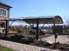 Turnkey translucent designs (canopies, peaks,