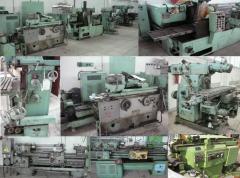 Repair milling, ChPU, metalworking machines under
