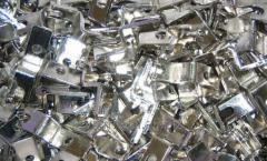 Nickel plating brilliant metal wares