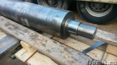 Production and polishing of shaft, axes, rods
