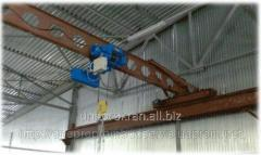 Delivery of frame cranes of basic and suspended g