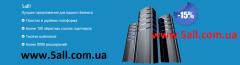 Создание сайта + домен +хостинг + без рекламы = 150 грн/год
