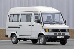 Mercedes 208D cargo transportation across Odessa