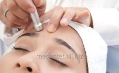 Микродермабразия кожи лица