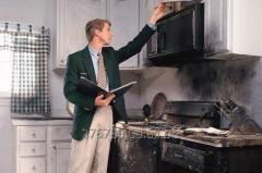 Оцінка збитків від пожежі