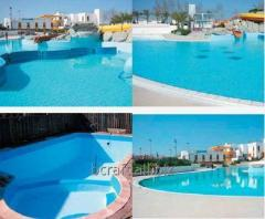 Waterproofing of pools