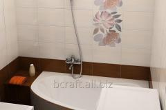 Waterproofing of a bathroom and bathrooms
