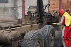 Пескоструйная обработка металла, бетона, кирпича