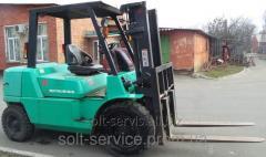 Exchange of loaders old on new, Ukraine