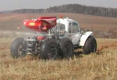 KAS-32 extra hay self-propelled agrotechnical