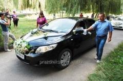 Авто на свадьбу в Сумах, Toyota Corolla