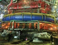 Разработка проектов новых и реконструкции действующих объектов прокатного и трубопрокатного производства