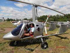 Flights on an autogyr