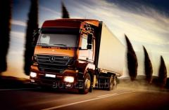 Trucking Ukraina - Luxemburg