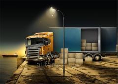 인도 주의적 물품 룩셈부르크 교통 - 우크라이나