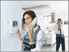 We project and install on-door speakerphones