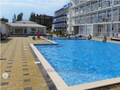 Парк-отель Березка Коблево на берегу моря