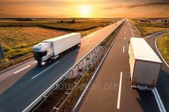 Transportation of not dimension Ukraine – Albania