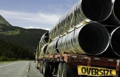 Перевозки негабаритных грузов международные