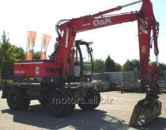 Excavator full-rotary O&K MH/MH of CITY