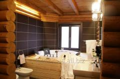 Services in construction of saunas for rest,